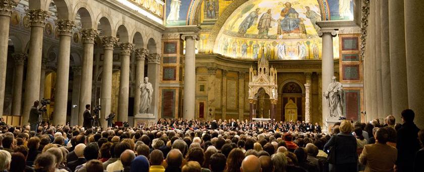 фестиваль духовной музыки рим