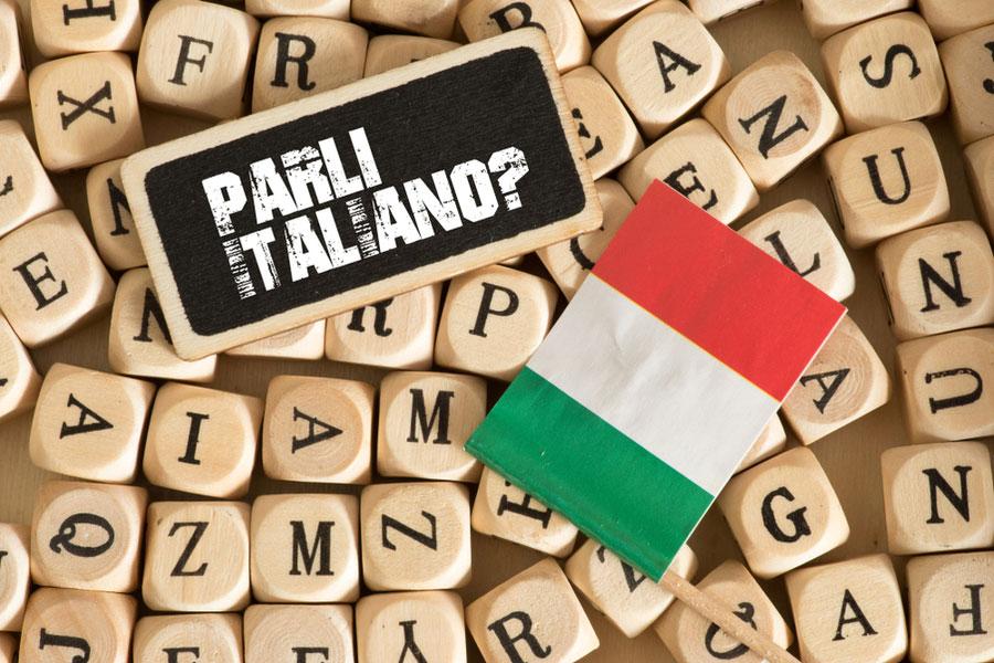 итальянский алфавит